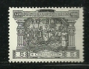 Portugal 1911 Postage Due Stamps 1898 Overprinted Selos Porteados MH - Post