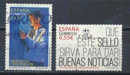 °°° SPAGNA SPAIN - YT N°4652/53 MI N°4947/48 - 2015 °°° - 2011-... Usati