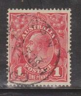 AUSTRALIA Scott # 21 Used - KGV Head - 1913-36 George V : Têtes