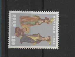 PERU 1982, CHRISTMAS, RELIGION, JESUS, MARIA AND JOSE, 1 VALUE Complete MINT NH - Peru