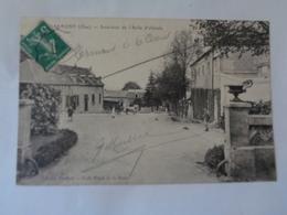 CLERMONT : Intérieur De L'asile D'aliénés - Clermont