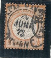ALLEMAGNE  Empire N° 15 Côte 10€ 1/2K Orange  € - Germany