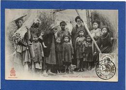 CPA Tonkin Indochine Asie Types Ethnic Timbré Non Circulé - Viêt-Nam