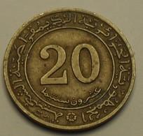 1972 - Algérie - Algeria - 20 CENTIMES, F.A.O. KM 103 - Algeria