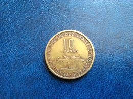 Territoire Français Des Afars Et Des Issas   10 Francs  1970 - Kolonien
