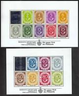Germany 1996 / Posthornsatz Bund 123-138 / Faksimiledruck, Faksimile, Vignette, Cinderella / H. E. Sieger - Cinderellas