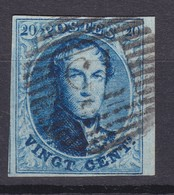 N° 11 A  Margé BDF  75 LOKEREN - 1858-1862 Médaillons (9/12)