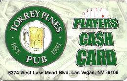 Torrey Pines Pub - Las Vegas NV - Players Club / Casino Slot Card - Casino Cards