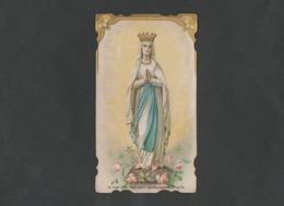 Gebed Tot O.L.V Van Lourdes  -  Aandenken Aan Meersel (paus Leo XIII 1878) - Religion & Esotérisme