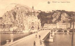 Dinant - Le Pont - Citadelle Et Eglise - Dinant