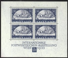Austria 1981 / WIPA 1933 / Philatelic Exhibition / Faksimiledruck, Faksimile, Vignette, Cinderella - Expositions Philatéliques