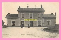 CPA  MONTOIR  La Gare - France