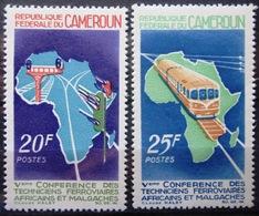 CAMEROUN                N° 434/435                  NEUF** - Cameroun (1960-...)