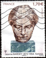 Oblitération Moderne Sur Timbre De France N° 5154 - Jeanne Bardey « Femme » - France