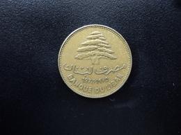LIBAN : 25 PIASTRES  1975   KM 27.1     TTB - Lebanon