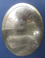 "Plaque ""Garde Chasse Particulier"" - Army & War"
