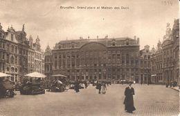 Bruxelles - Brussel - Grand'Place Et Maison Des Ducs - Marktpleinen, Pleinen