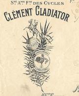 Traite 1926 / SEINE ST DENIS / LE PRE ST GERVAIS / C. GLADIATOR / CYCLES - Cambiali