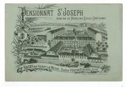 22162  CPA  HACHY  Par HABAY LA NEUVE , Lithographie Du Pensionnat Saint Joseph , Frères Des Ecoles Chrétiennes ! - Habay