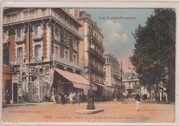 BIARRITZ    Place De La Mairie Et Hôtel De France - Biarritz