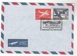 Austria KLAGENFURT 1925 Aircraft ANNIV 1995 EVENT COVER Aviation Flight Stamps Bird Birds - Airplanes