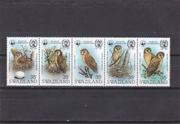 Swaziland Nº 399 Al 403 - Swaziland (1968-...)