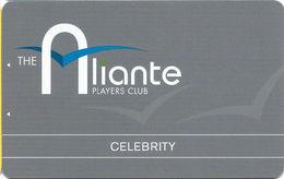 Aliante Casino Las Vegas - BLANK Celebrity Slot Card With 1-800-477-7627 Phone# - Casino Cards