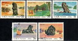 "Socialist Republic Of Vietnam 1984 ""Rocks In Ha Long Bay""  5v (incomplete) Quality:100 - Vietnam"