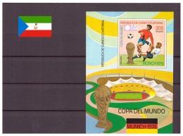 Guinée Equatoriale 1974 - MNH ** - Football - Coupe Du Monde Munich 1974 - Michel Nr. Bloc 96 (geq150) - Equatorial Guinea