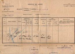 VP12.754 - MILITARIA - Guerre 39/45 - Lettre En Franchise Militaire - Hopital De MONTPELLIER Pour TOULOUSE - Documents
