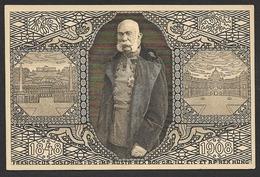 KAISER FRANZ JOSEPH 1848 Bis 1908 Jubiläumskarte - Historische Persönlichkeiten