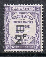 ALGERIE TAXE N°24 N* - Algeria (1924-1962)