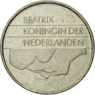 Monnaie, Pays-Bas, Beatrix, Gulden, 1986, TTB, Nickel, KM:205 - [ 3] 1815-… : Kingdom Of The Netherlands