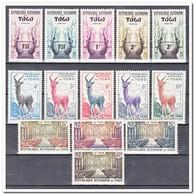 Togo 1959, Postfris MNH, Animals, Wood - Togo (1960-...)