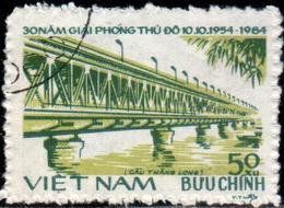 "Social Rep Of Vietnam 1984 ""30th Anniv Of The Liberation Of Hanoi.New Thang-Long Bridge"" 1v(incomp) Quality:100% - Vietnam"