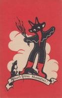 AK - Gruss Vom Krampus  - Mit Der Ratte - Autres
