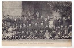 """"""" Groupe De Colons De Saint-Denis à Monsoult - Pâques 1907 """" Scouts à La Colonie De Montsoult - Scouting"""