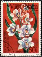 "Socialist Republic Of Vietnam 1984 ""Boat Orchid "" 1v (incomplete) Quality:100% - Vietnam"