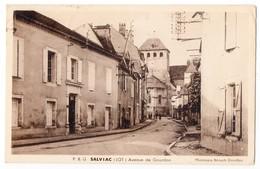 """"""" SALVIAC - Avenue De Gourdon """" - Salviac"""