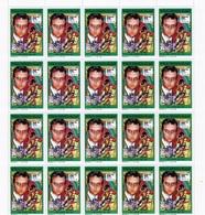 Madagascar 1992, Music, John Lennon, Sheetlet - Zangers