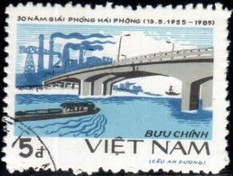 """Socialist Republic Of Vietnam 1985 """"30 Anniv. Of The Liberation Of Haiphong"""" 1v (incomplete) Quality:100% - Vietnam"""