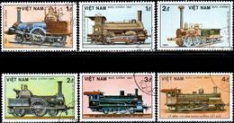 "Socialist Republic Of Vietnam 1985 ""150th Anniversary Of German Railways"" 6v (incomplete) Quality:100% - Vietnam"