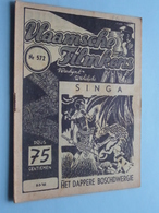 VLAAMSCHE FILMKENS ( Nr. 572 ) 8-3-'42 : SINGA Het Dappere Boschdwergje ! - Jeugd