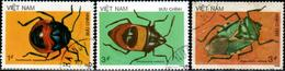 """Socialist Republic Of Vietnam 1987 """"Insects"""" 3v (incomplete) Quality:100% - Vietnam"""