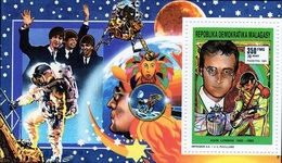 Madagascar 1992, Music, John Lennon, Space, BF - Space