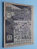 VLAAMSCHE FILMKENS ( Nr. 576 ) 5-4-'42 : DORA Reist In Het Onbekende ! - Livres, BD, Revues