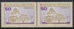 Croatia 1992 Sibenik, Error - At 2nd Stamp Is Dot Above Zrinski, MNH (**) Michel 196 - Croatie