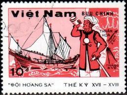 "Socialist Republic Of Vietnam 1988 ""Hoang-Sa And Truong-Sa Islands. Sailor"" 1v (incomplete) Quality:100% - Vietnam"