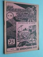 VLAAMSCHE FILMKENS ( Nr. 581 ) 10-5-'42 : BLIKSEM-JOE In ACTIE - De Geheimzinnige Kast ! - Livres, BD, Revues