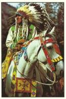 Canadian Indian Chief / Alberta Canada - Indiens De L'Amerique Du Nord